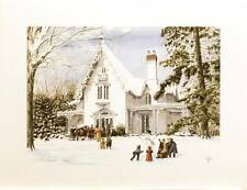 Walter Campbell - Christmas Memories - Limited Edition Print of  850
