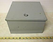 Hoffman Cat. No. A10N106 Steel Electric Box Enclosure Type 1 w/ Cam Lock