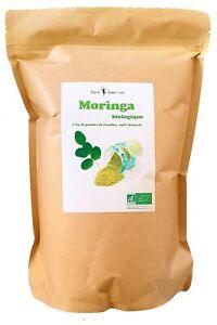 Moringa BIO - Sachet 1kg - Poudre de feuille Biologique - Santé - Energie