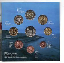 CARTERA OFICIAL ESPAÑA 2008 BU FINLANDIA 2008 coin set BU