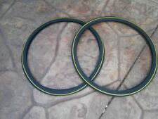 "2- 28"" X 1 1/2"" (635) Bicycle Tires & Tubes Fits Vintage English Dutch Bikes"