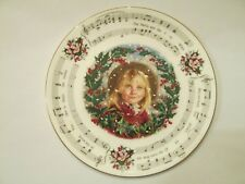 1987 Royal Doulton Christmas Carols The Holly And The Ivy Collectors Plate