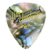 Dunlop 483P14TH Celluloid Classic Electric Guitar Picks Abalone Thin 12-Pack