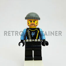 LEGO Minifigures - 1x aqu017 - Aquaraider - Omino Minifig Aquazone Set 7775