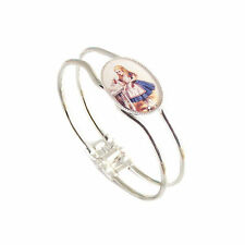 Silver Plated Bangle Not Applicable Costume Bracelets