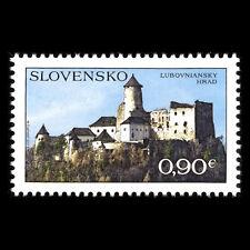 Slovakia 2012 - Ľubovňany Castle Architecture - Sc 647 MNH