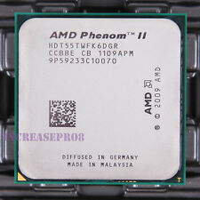 AMD Phenom II X6 1055T HDT55TWFK6DGR CPU Processor 2000MHz 2.8GHz Socket AM3 95W