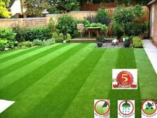 ARTIFICIAL GRASS QUALITY ASTRO TURF CHEAP REALISTIC NATURAL 15MM GREEN NEW