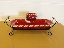 Peppermint Hospitality Set with Free Gift Vintage Home Interiors & Gifts Gtc