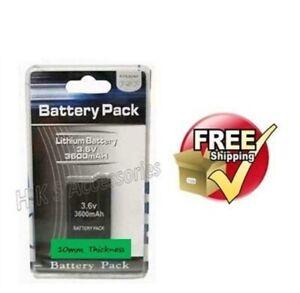 3600mAh Battery for Sony PSP 2000/2001/2003/2004 Slim
