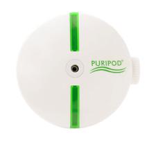 Puripod Pulitore aria ioni PASTIGLIE ricarica deodorante Rimuovi virus in Bianco + NUOVO IN SCATOLA ORIGINALE