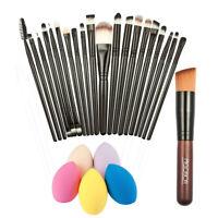 New Promotion!!! 20x Makeup Brushes + Powder Foundation Brush + Sponge Puff Best