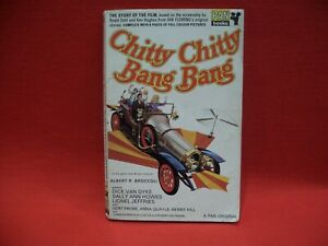 CHITTY CHITTY BANG BANG STORY OF THE FILM JOHN BURKE PAN BOOKS PB 1ST/2ND 1969