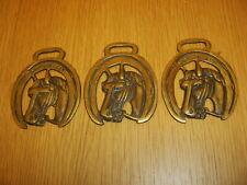 Windsor Grey Horse Brasses / Medallions - England
