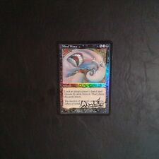 1X Mind Warp - DCI PROMO - * Signed by Danforth FOIL English, SEE PICTURES * MTG