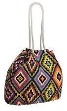 Womens Aztec Print Pattern Canvas Shoulder Handbag Messenger Purse Ladies Bag