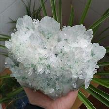 "2660g  NATURAL Green Ghost ""pyramid"" Quartz Crystal Cluster Specimen #5"