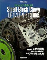 Lt1 How To Rebuild Manual Lt4 Mavrigian Shop Repair Engines Chevrolet Book