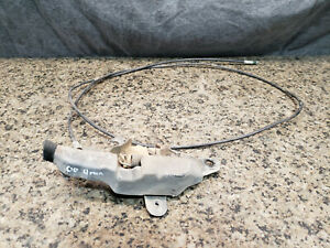 2000 Toyota 4runner HOOD LATCH + RELEASE CABLE hood lock mechanism