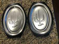 Nordic Ware Serv A Sizzler Platter Holder Sizzle Plate Steak Fajitas Lot Of 2