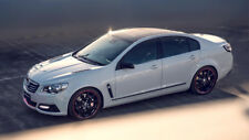 """HOLDEN COMMODORE DIRECTOR WHITE A4 CANVAS PRINT POSTER 11.7""""x6.9"""""""