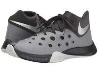 Nike Zoom Hyperquickness 2015 Men's Basketball Shoes Black/Grey/Silver
