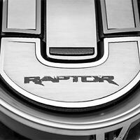 For Ford F-150 10-14 ACC Brushed A/C Deluxe Vent Trim Cover Set w Raptor Logo