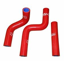 KX85 KX 85 Silicone Radiator Hose Kit Pro Factory Hoses Red 2001-2013