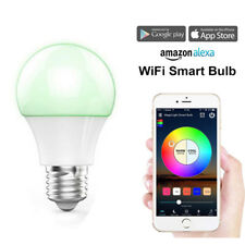 Smart LED RGB Color Light Bulb Works With Alexa Google Home WIFI Remote Control