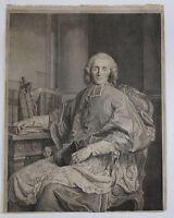 Vincenzo VANGELISTI (1728-1798) Retrato Claude Antoine d'Apchon Montbrison Auch