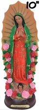 """10"""" Our Lady Of Guadalupe Virgin Mary Statue-Virgen De Guadalupe-#6453-10"""