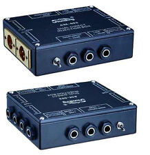 Soundking AM403 2 channel / dual passive stereo DI Direct Box  SAME DAY SHIPPING