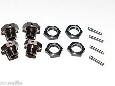 KYO33001B KYOSHO INFERNO MP9 TKI4 1/8 BUGGY 17MM WHEEL HEXES WITH LOCKING NUTS