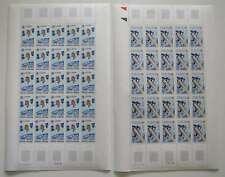 CEPT 1991  SPACE  FRENCH ANDORRA  FULL SHEET mnh**    Yvert 600 € /cr225
