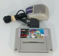 Mario Paint with Mouse - Super Nintendo SNES