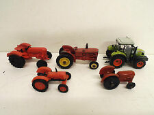 JOB LOT OF 1:87 OTHER TRACTOR'S X 5 LOOSE DIFFERENT MAKES (BS1037)