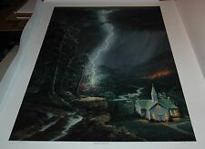 Jesse Barnes REFUGE FROM THE STORM - Limited Edition S/N unframed paper MINT