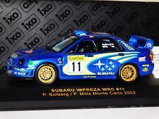 SUBARU IMPREZA WRC #11 P. SOLBERG MONTE CARLO RALLY 2002 IXO RAM080 1:43