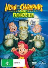 Alvin and the Chipmunks Meet Frankenstein (DVD, 2008)