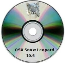 OS X  Snow Leopard 10.6 - avviabili DVD DL (Recovery, upgrade, Fresh )