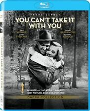 Blu Ray YOU CAN'T TAKE IT WITH YOU. James Stewart. Region free. New & sealed.