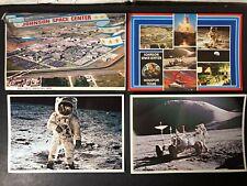 Vintage Postcards and Folding Book Johnson Space Center Houston Texas