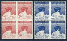 CHILE * 1947 * compl.set 2 stamps in Block of 4 *MNH** Antarctica - Mi. No 355-6