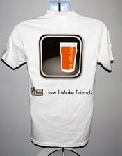 NEW MENS OLD CHICAGO CRAFT BEER TOUR T SHIRT 2012 TAP HOW I MAKE FRIENDS SMALL