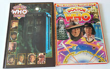 THE AMAZING WORLD OF DOCTOR WHO HARDBACK ANNUAL 1976 & YEARBOOK 1995 *VGC*