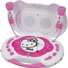 Hello Kitty CD PLAYER and KARAOKE SYSTEM KT2003CA CD-R/RW