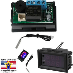XD-2048 LCD Digital Thermostat Temperature Controller Meter Regulator DC 12V 20A