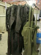 New listing Lot of 4 Vintage Men's Military European Foreign Jumpsuits Resale Costume Theme
