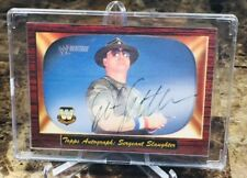 """2005 Topps WWE/Heritage ~ SERGEANT SLAUGHTER """"RARE""""!!! ON CARD AUTO!!! (WWF!!!)"""