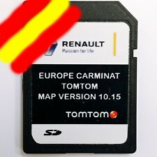 Renault 2009-2010 navegación carminat tomtom SD Card 2018 2019 Europe V 10.05